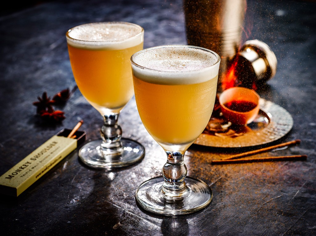 Morning Glory Fizz Flame | Monkey Shoulder