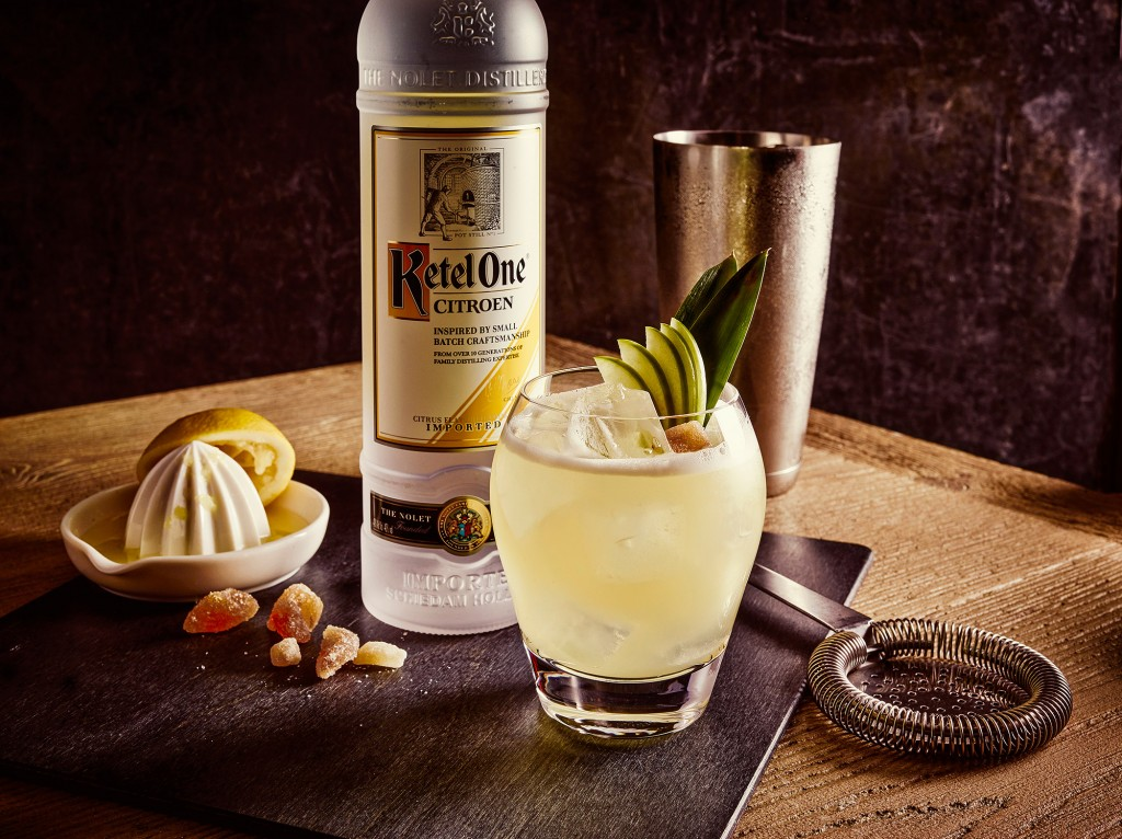 AL Citron Ginger Smash 1 w1 | Ketel One