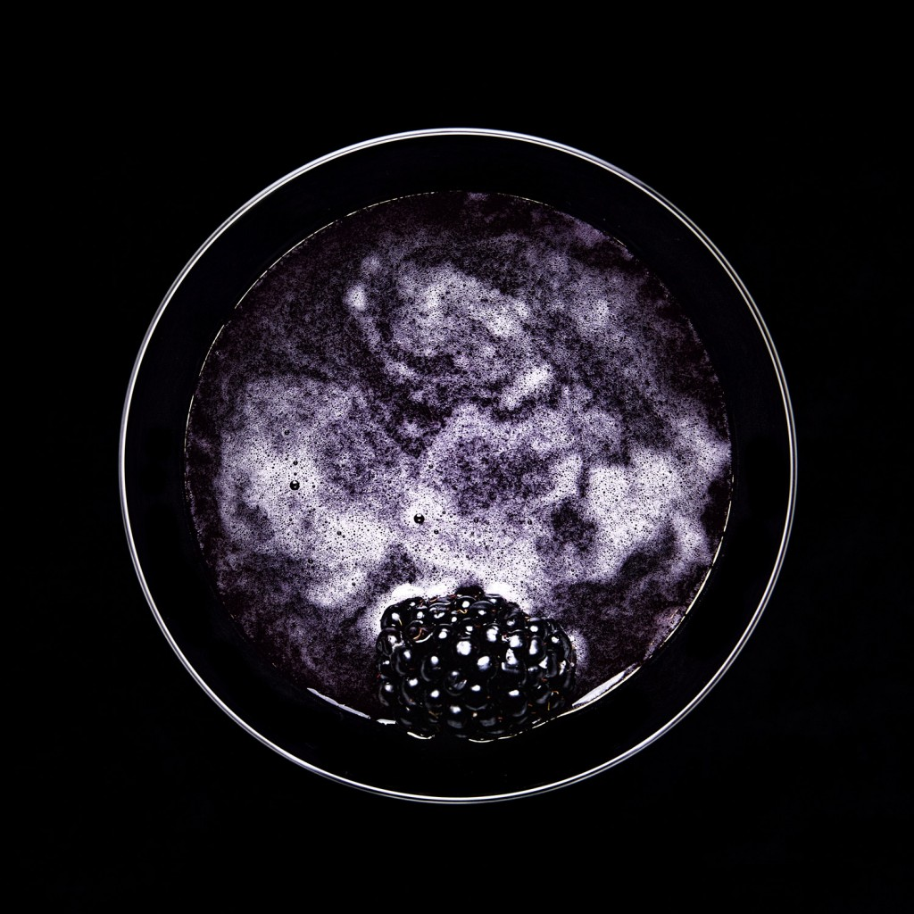 Blackberry Martini | Winner of 2017 Association of Photographers Design series award