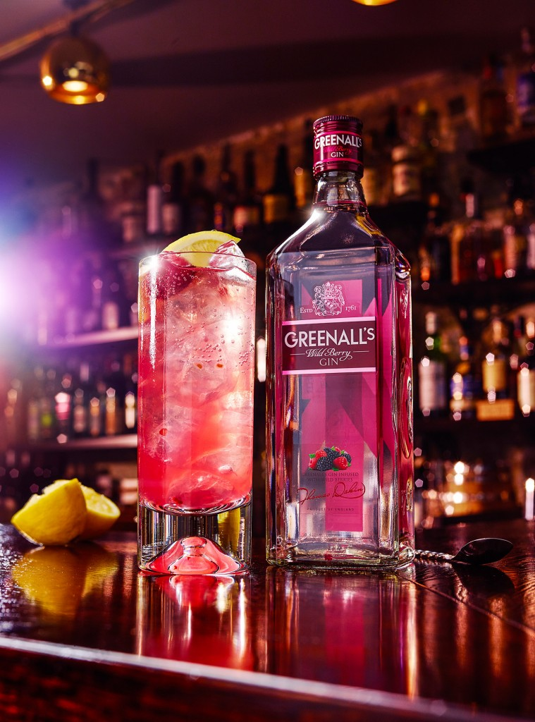 Greens Wild Berry On The Berry Side Bottle w2 | Greenall's Gin