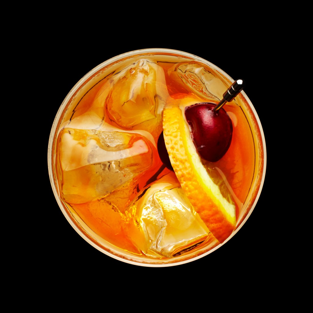Old Fashioned Overhead Final | Cocktails from above