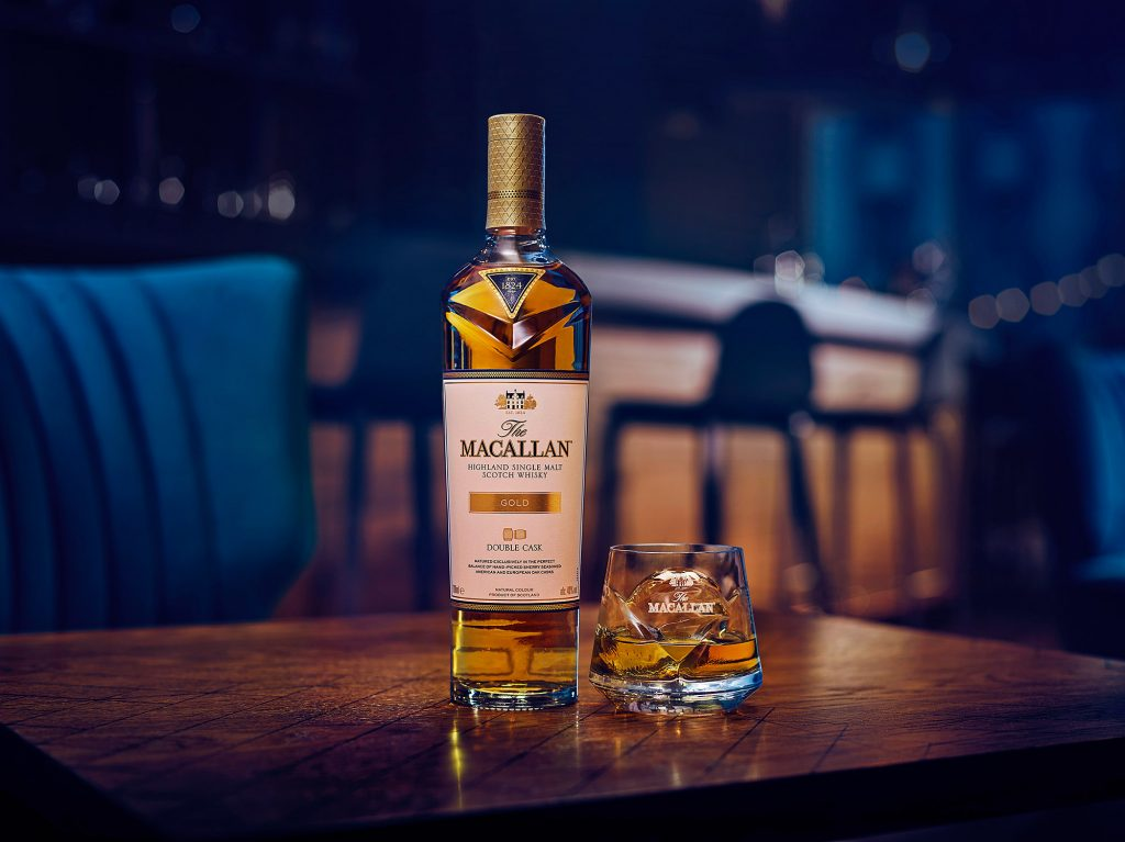 RL The Macallan DC Gold W2 Serve with ice | The Macallan