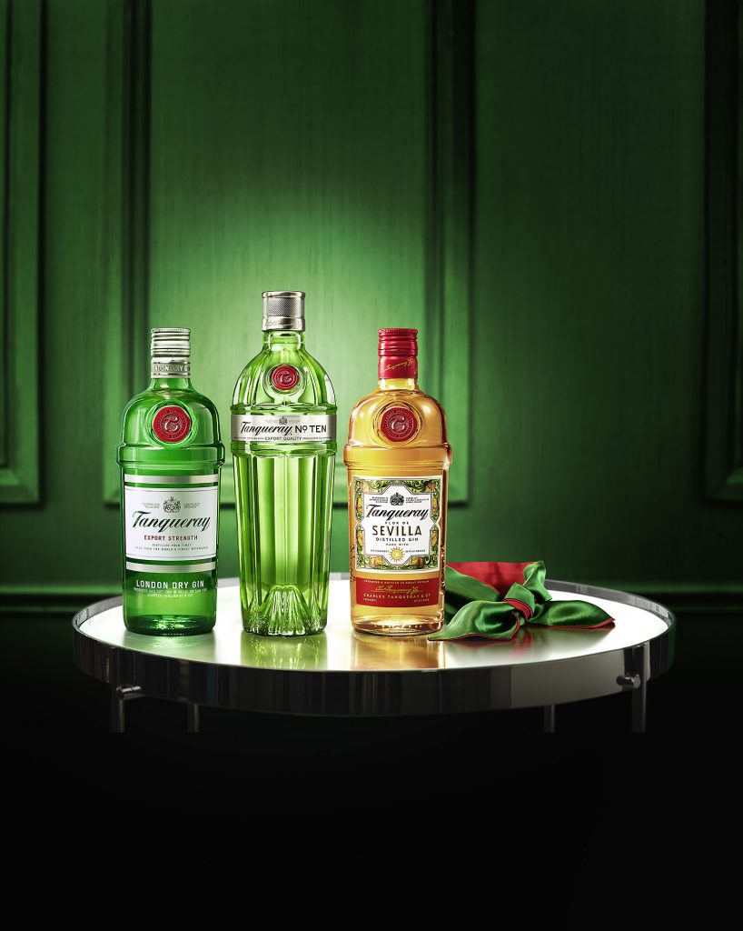 Tanqueray 3BottleGroup w4f | Tanqueray Gin
