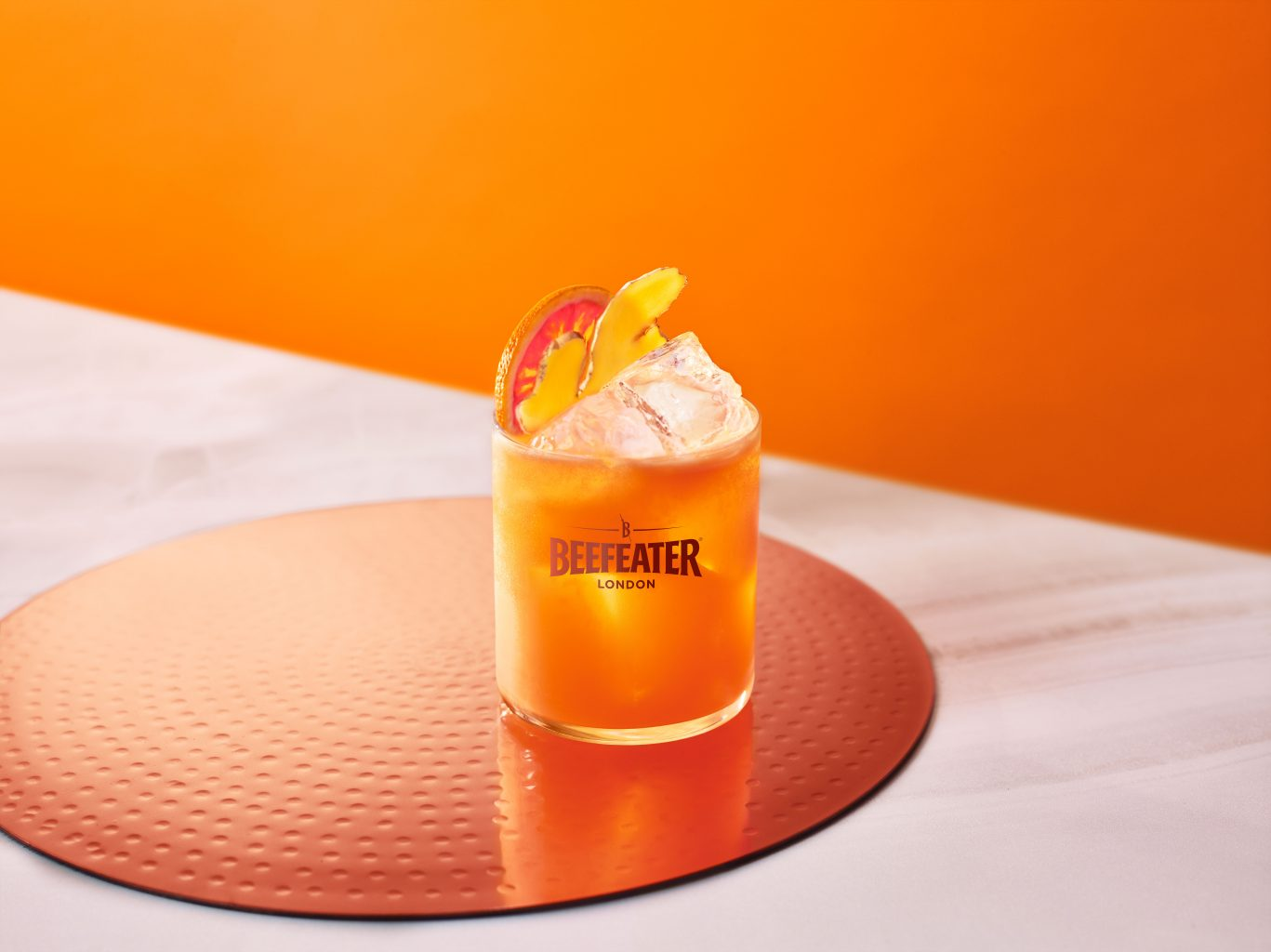 Beefeater Raw Carrot Citrus Crush LOGO | Beefeater Pink Strawberry & Blood Orange