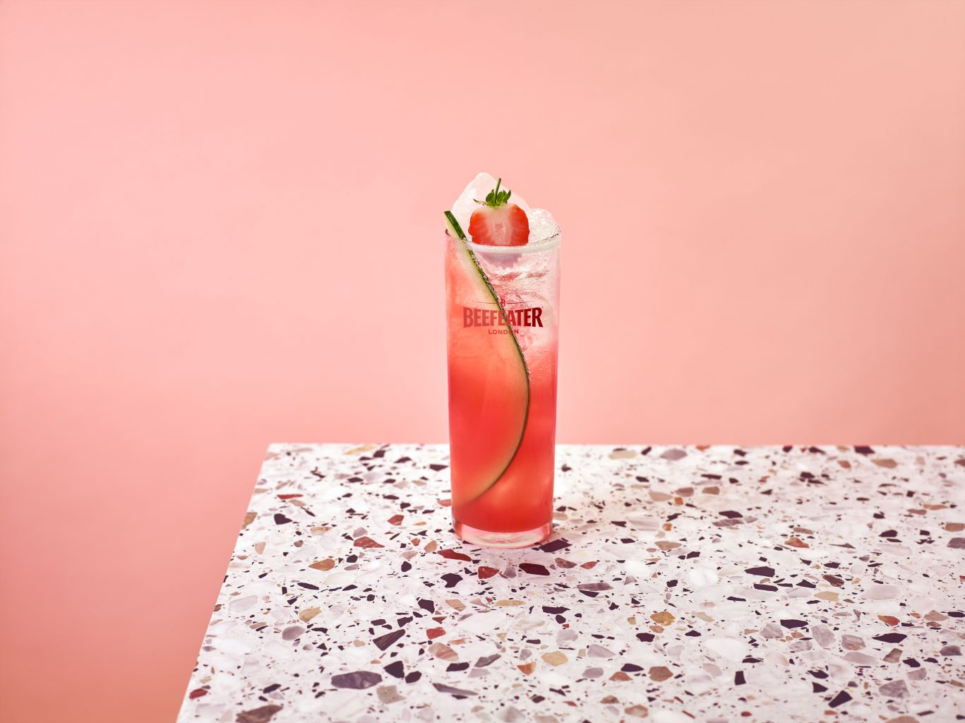 RL Beefeater Summer Pink Punch W2a LOGO | Beefeater Pink Strawberry & Blood Orange