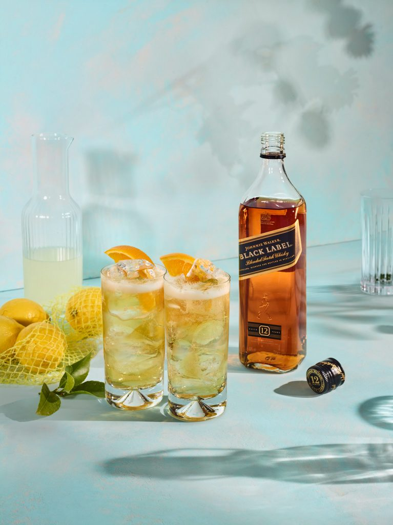 S5 Lemon w1c BLACK LABEL | Johnnie Walker