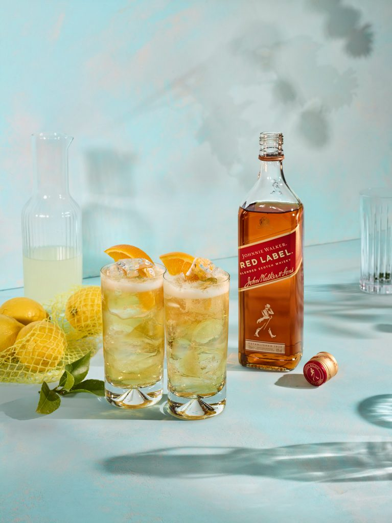 S5 Lemon w1c RED LABEL | Johnnie Walker