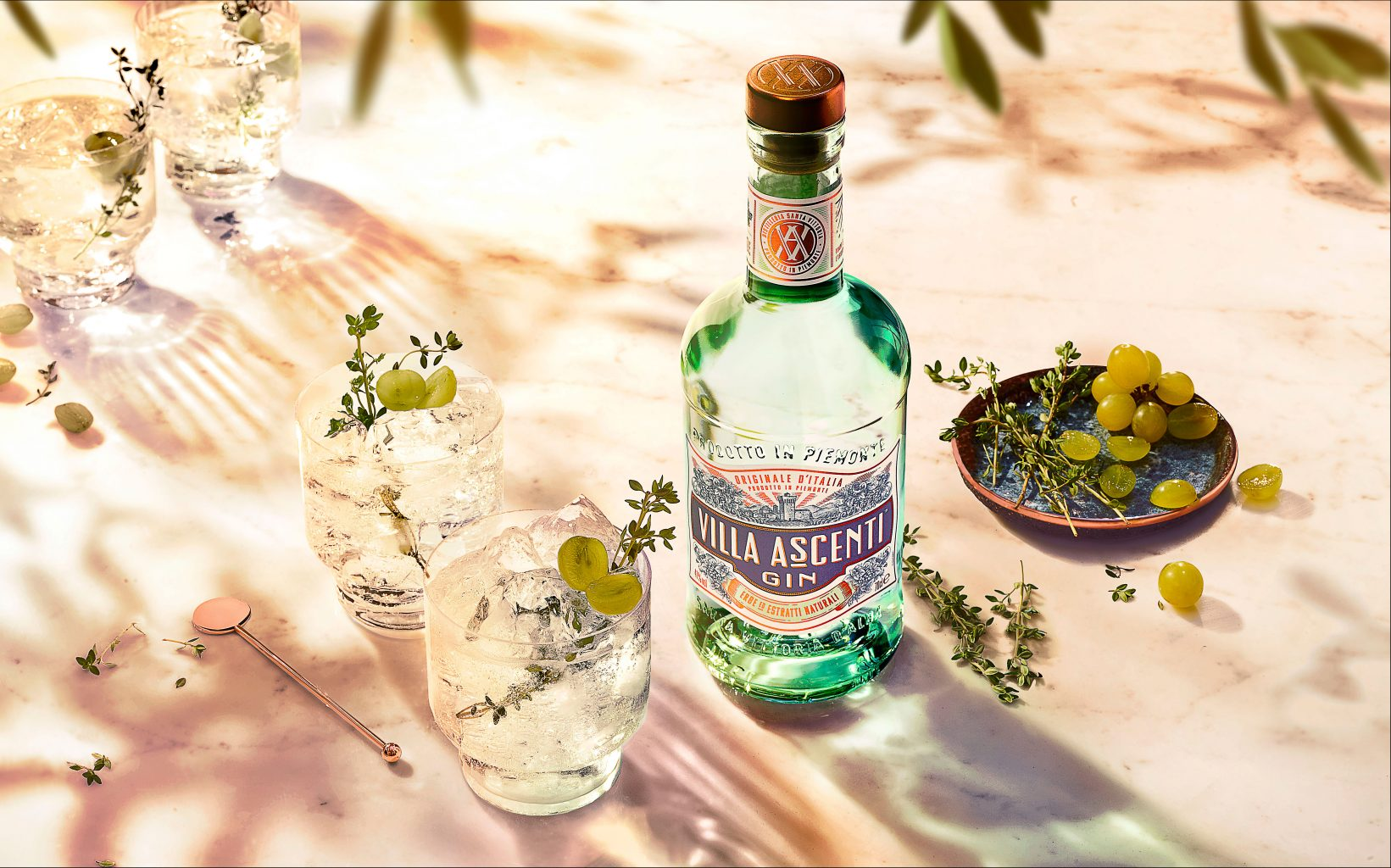 Villa Ascenti and Tonic LANDSCAPE | Villa Ascenti Gin