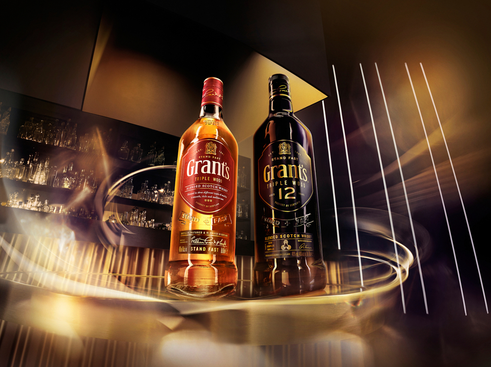 S10 EXT BAR TW12 COMP TR w7d SELECT 06   Grant's Whisky